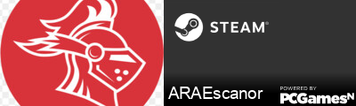 ARAEscanor Steam Signature