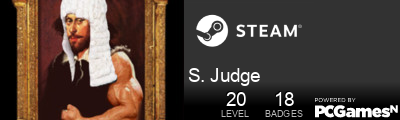 S. Judge Steam Signature